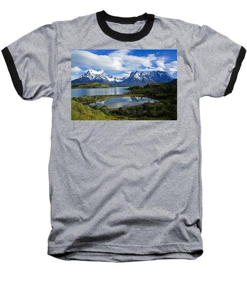 Springtime In Patagonia Baseball T-Shirt