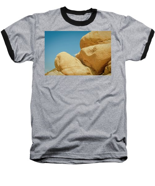 Stacked Boulders Joshua Tree Baseball T-Shirt by Amyn Nasser