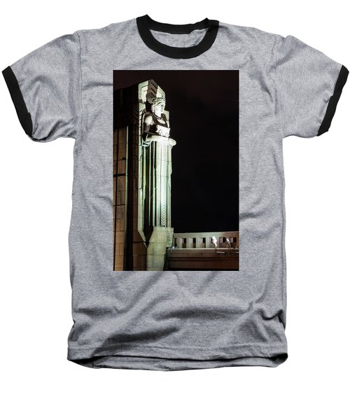 Standing Guard Baseball T-Shirt