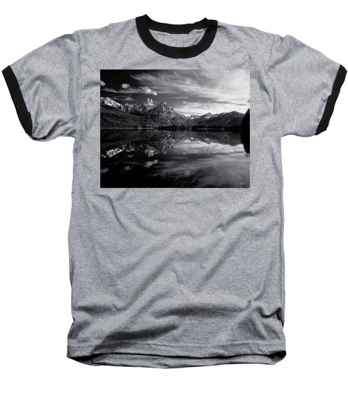 Stanley Lake Baseball T-Shirt by Leland D Howard