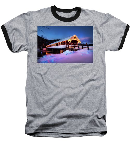 Baseball T-Shirt featuring the photograph Stark New Hampshire by Robert Clifford