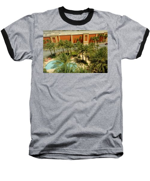 Staycation Upgrade Baseball T-Shirt