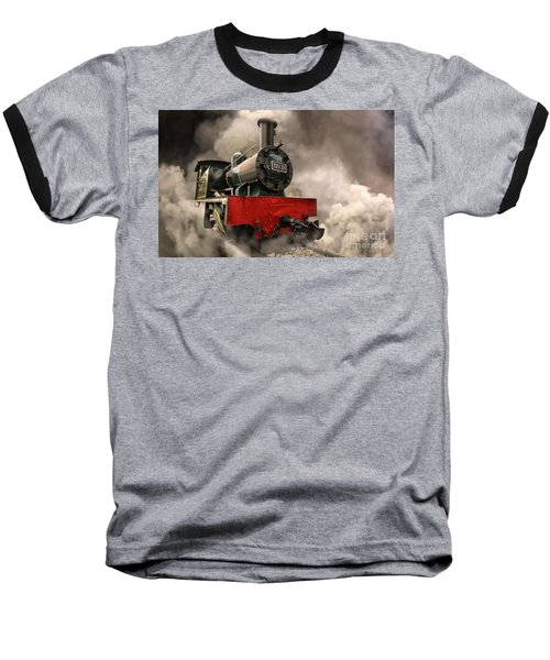 Baseball T-Shirt featuring the photograph Steam Engine by Charuhas Images