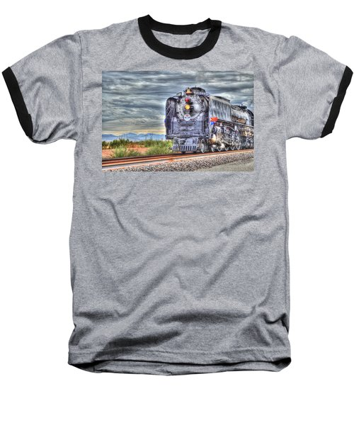 Steam Train No 844 Baseball T-Shirt