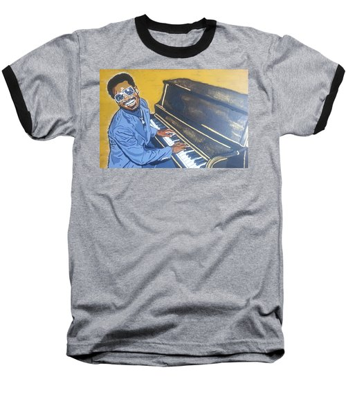Stevie Wonder Baseball T-Shirt