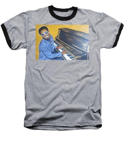 Stevie Wonder Baseball T-Shirt