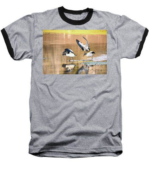 Stork Rugby Baseball T-Shirt
