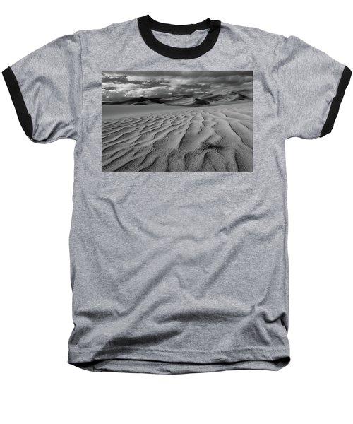 Storm Over Sand Dunes Baseball T-Shirt