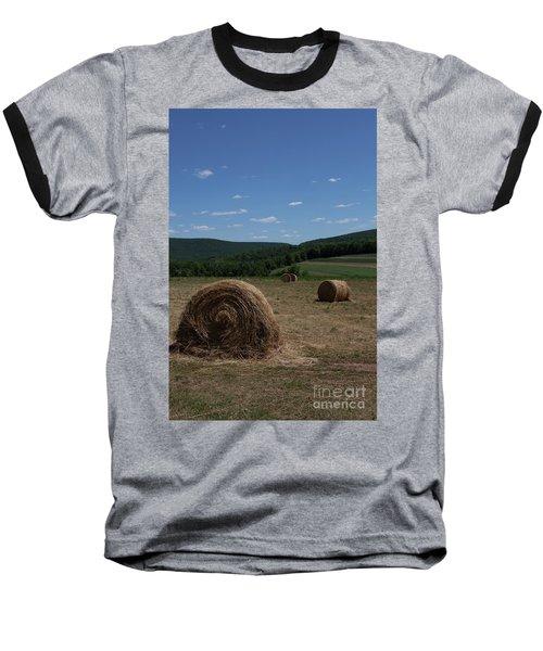 Straw Bales Baseball T-Shirt