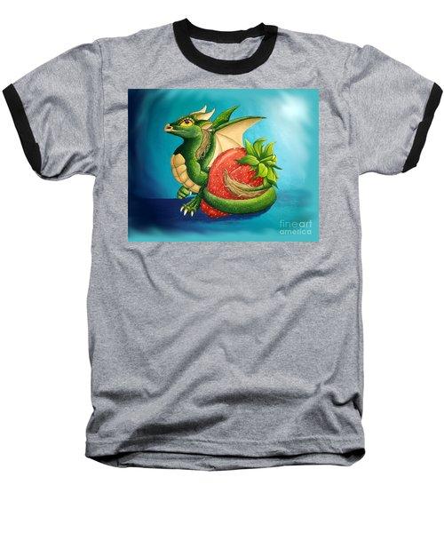 Strawberry Dragon Baseball T-Shirt