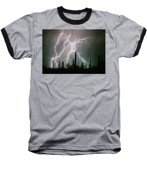 Striking Photography Baseball T-Shirt