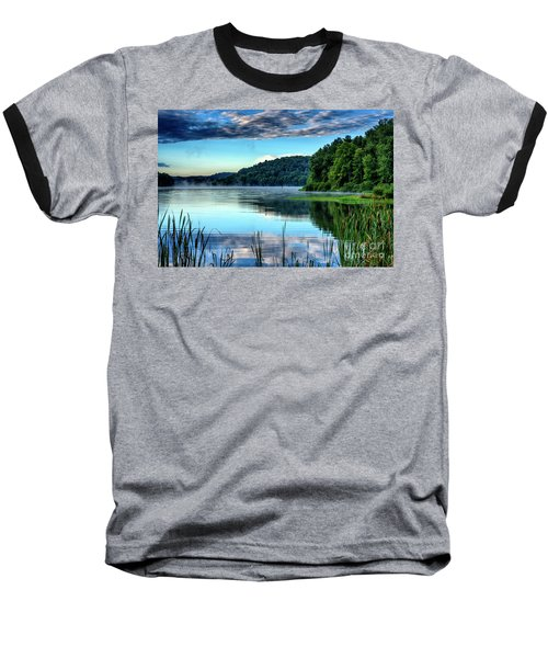 Summer Morning On The Lake Baseball T-Shirt