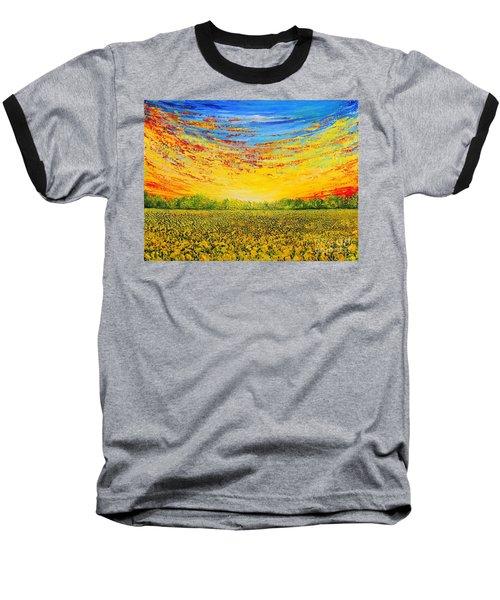 Summer Baseball T-Shirt by Teresa Wegrzyn