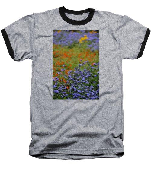 Summer's Garden Baseball T-Shirt by Tim Good