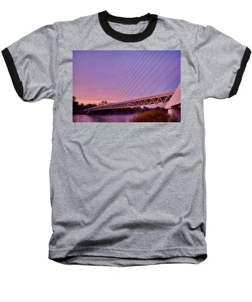 Sundial Bridge Baseball T-Shirt