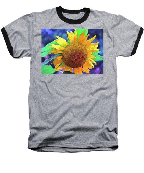 Baseball T-Shirt featuring the photograph Sunflower by Allen Beatty
