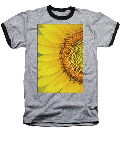 Sunflower Petals Baseball T-Shirt
