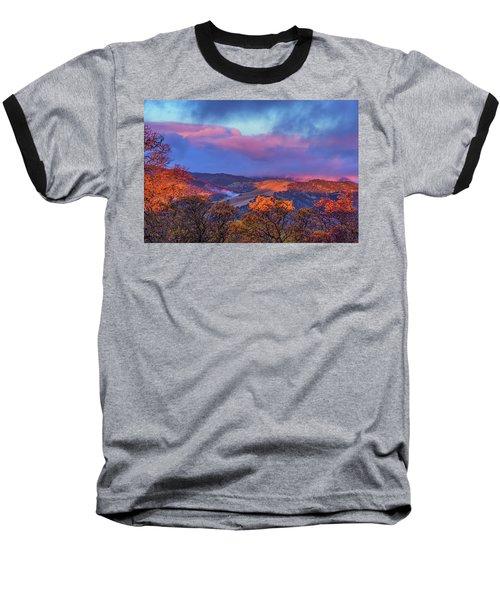 Sunrise Light Baseball T-Shirt by Marc Crumpler