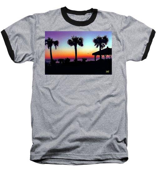 Sunrise On Ormond Beach Baseball T-Shirt
