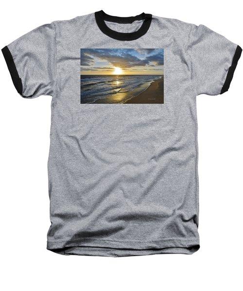 Sunrise On The Banks  Baseball T-Shirt
