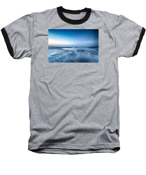 Blue Sunrise Baseball T-Shirt