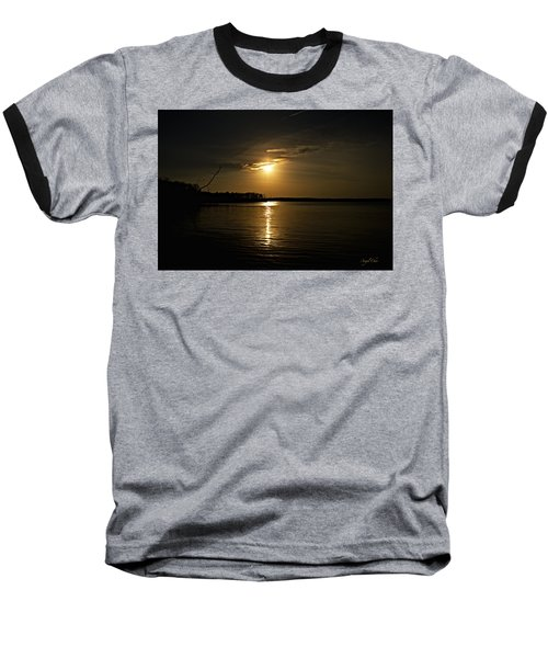 Baseball T-Shirt featuring the photograph Sunset by Angel Cher