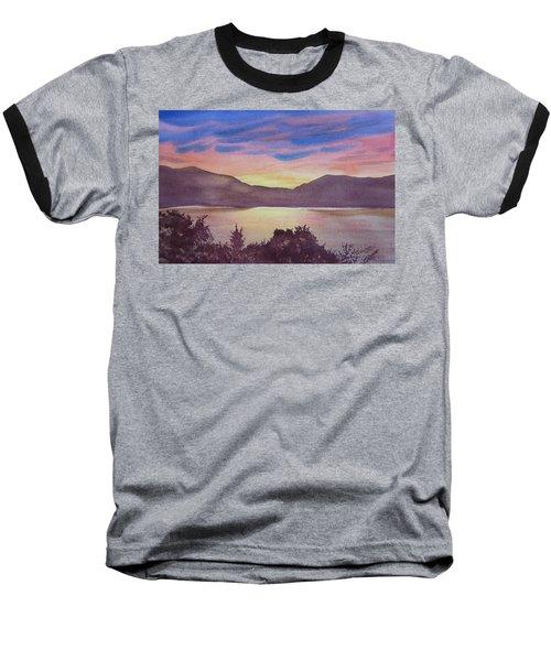 Sunset At Woodhead Campground Baseball T-Shirt by Joel Deutsch