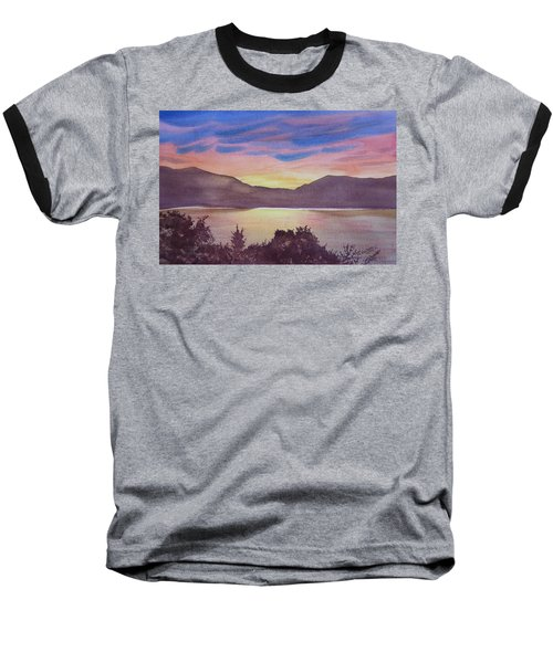 Sunset At Woodhead Campground Baseball T-Shirt