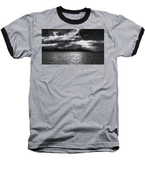 Baseball T-Shirt featuring the photograph Sunset by Hayato Matsumoto