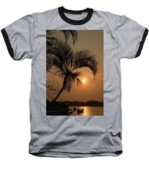sunset Huong river Baseball T-Shirt