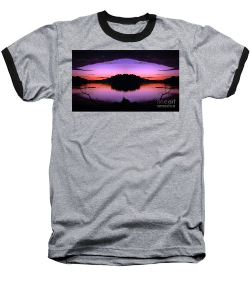 Sunset Kiss Baseball T-Shirt