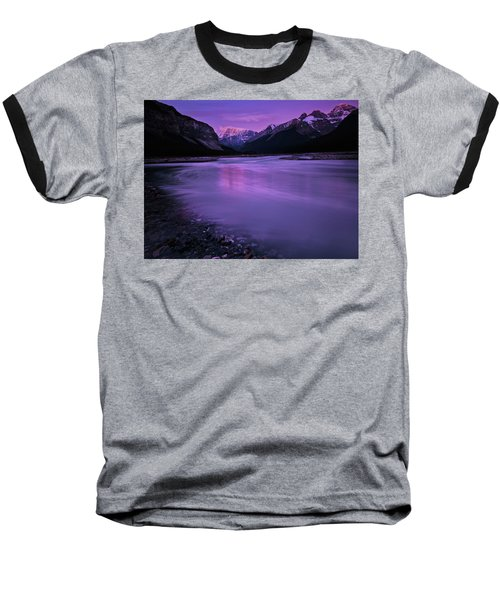 Sunwapta River Baseball T-Shirt