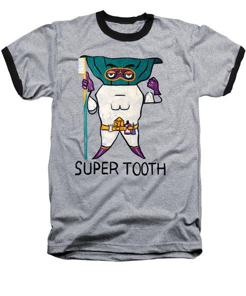 Super Tooth Baseball T-Shirt