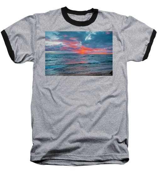 Superior Sunset Baseball T-Shirt