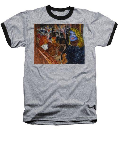 Susan Lautrec Baseball T-Shirt by Phil Strang