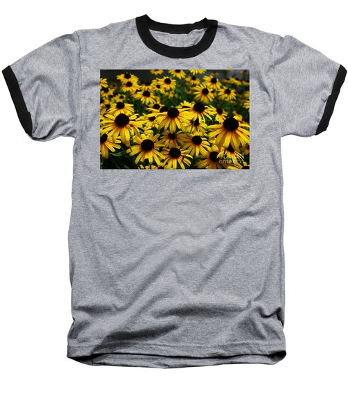 Sweet Flowers Baseball T-Shirt