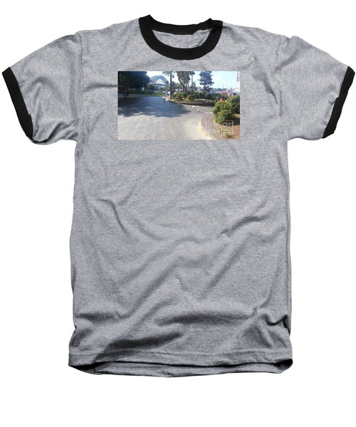 Sydney Harbor Bridge Baseball T-Shirt by Bev Conover