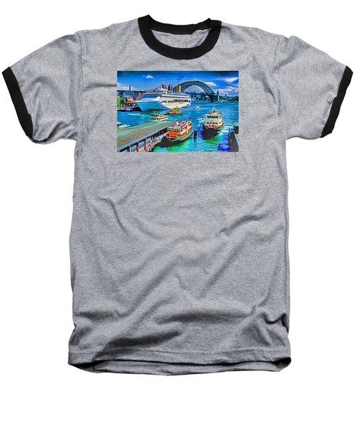 Sydney Quay Baseball T-Shirt