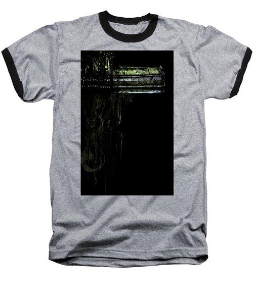 T Shirt Deconstruct Green Dodge Bumper Baseball T-Shirt