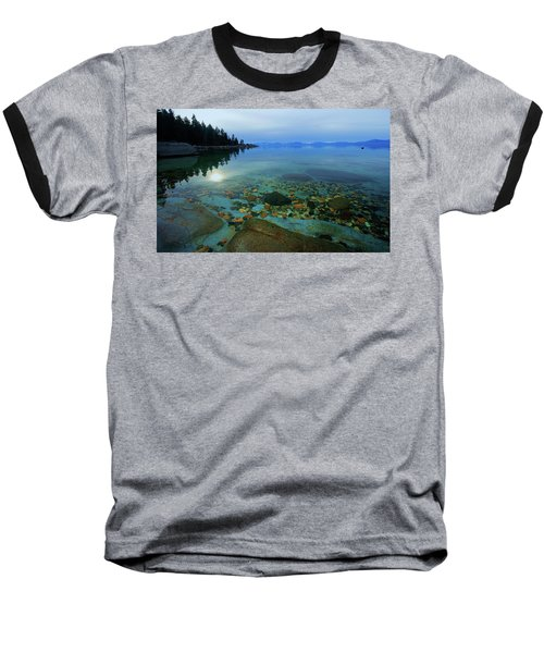 Tahoe Twilight Baseball T-Shirt