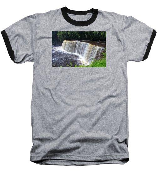 Tahquamenon Upper Falls IIi Baseball T-Shirt