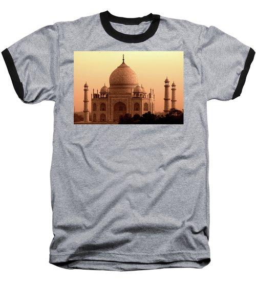 Taj Mahal Baseball T-Shirt by Aidan Moran