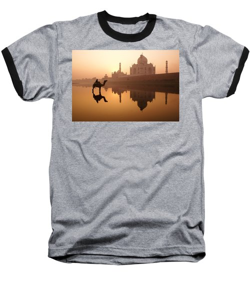Taj Mahal At Sunrise Baseball T-Shirt