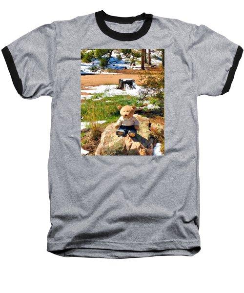 Takin' A Break Baseball T-Shirt
