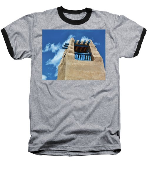 Taos Blue Baseball T-Shirt