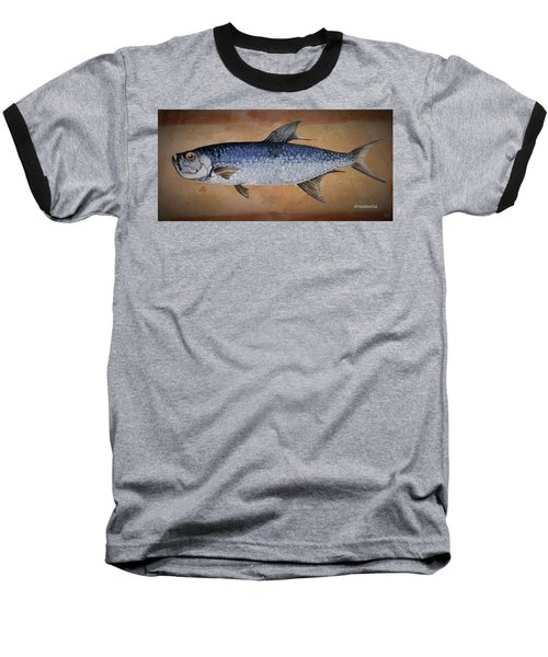 Baseball T-Shirt featuring the painting Tarpan by Andrew Drozdowicz