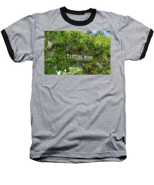 Tasting Room Sign Baseball T-Shirt