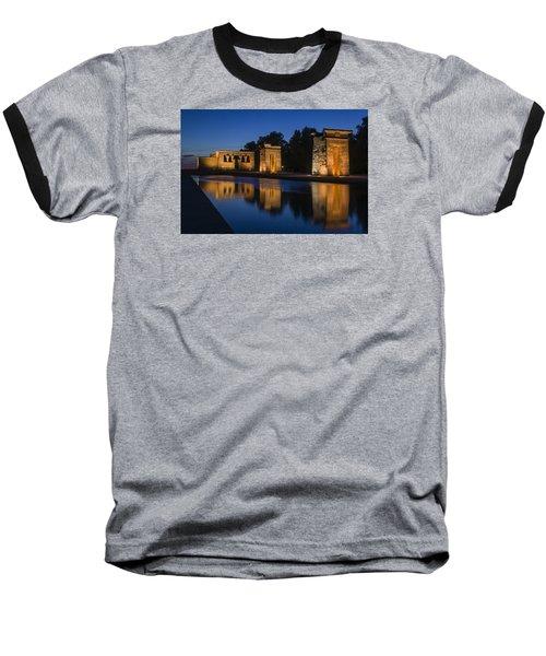 Templo De Debod Baseball T-Shirt