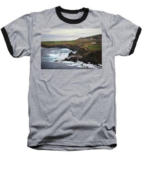 Terceira Coastline Baseball T-Shirt