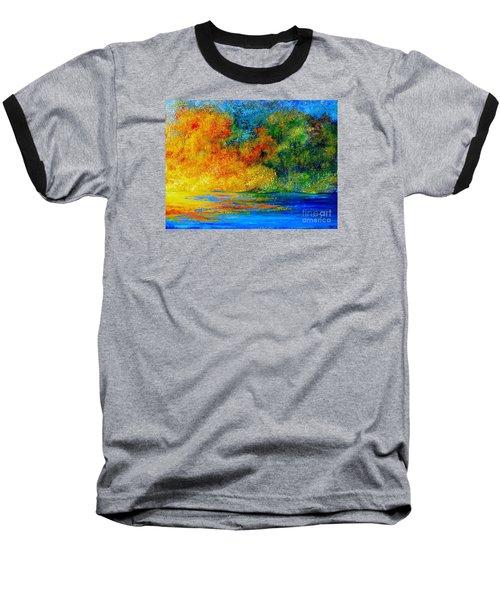 Memories Of Summer Baseball T-Shirt by Teresa Wegrzyn
